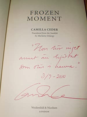 Frozen Moment: Camilla Ceder