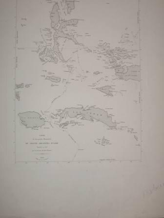 Carte De La Partie Orientale Du Grand Freycinet L