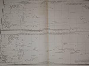 Chart Part of the Pacific Ocean between California and the Philippine Islands Original Seekarte