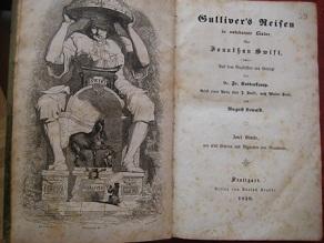 Gulliver`s Reisen in unbekannte Länder Bd. 1: Swift, Jonathan: