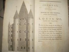 A Journal of Occurences at the Temple, during the confinement of Louis XVI EA