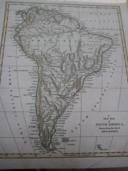 A New Map of South America drawn from the latest discoveries