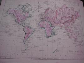 The World on Mercators Projection