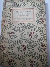 Vers Choisis des Fleurs du Mal: Baudelaire, Charles: