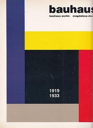 Bauhaus 1919-1933: Droste, M, Bauhaus
