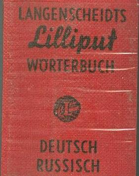 LANGENSCHEIDTS LILLIPUT DICTIONARY NO. 6, WORTERBUCH DEUTSCH