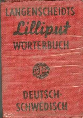 LANGENSCHEIDTS LILLIPUT DICTIONARY NO. 42, WORTERBUCH DEUTSCH