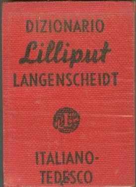LANGENSCHEIDTS LILLIPUT DICTIONARY NO. 6, DIZIONARIO ITALIANO