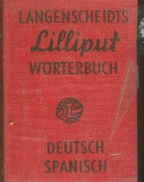 LANGENSCHEIDTS LILLIPUT DICTIONARY NO. 17, WORTERBUCH DEUTSCH