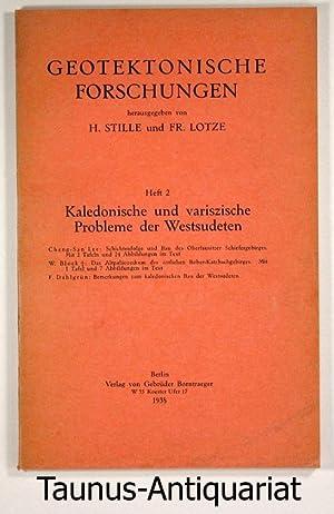 Geotektonische Forschungen. Heft 2: Kaledonische und variszische: Stille, H. und