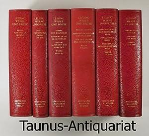 Werke und Briefe in zwölf Bänden. 12: Lessing, Gotthold Ephraim: