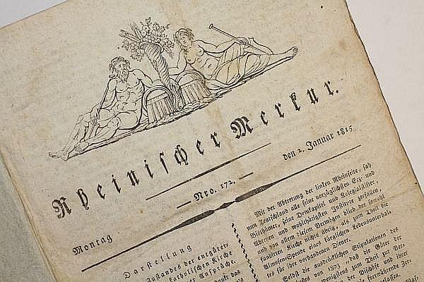 Rheinischer Merkur. - [1815].: Görres, Joseph (Hg.)