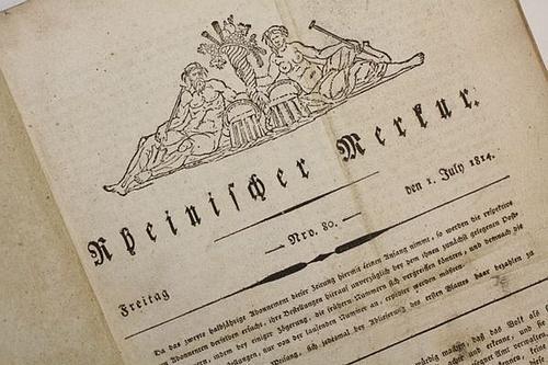Rheinischer Merkur. - [1814].: Görres, Joseph (Hg.)
