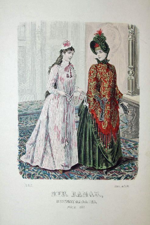 Der Bazar, Illustrirte Damen-Zeitung. März 1888. -