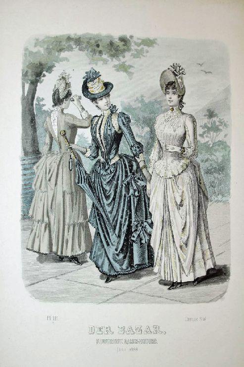 Der Bazar, Illustrirte Damen-Zeitung. Juli 1888. -
