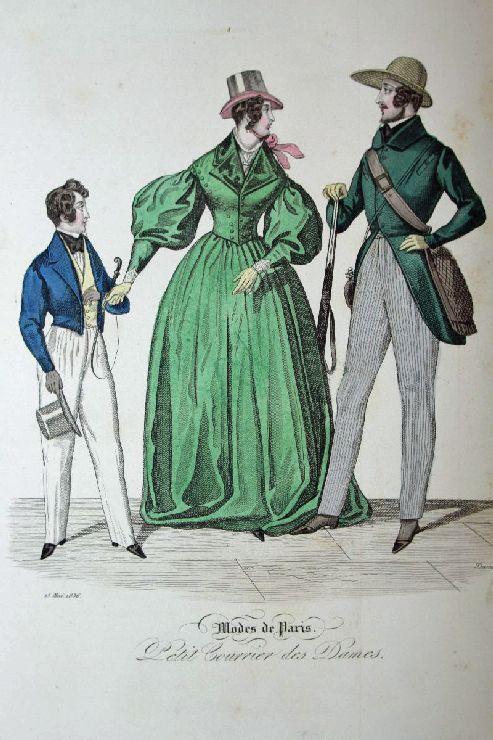 Modes de Paris. Petit Courrier des Dames.: Damouns
