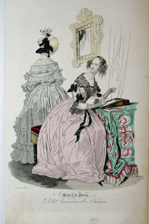 Modes de Paris. Petit Courrier des Dames.
