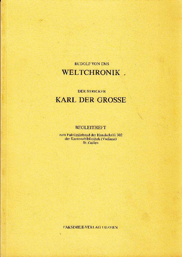 Begleitheft zum Faksimileband der Handschrift 302 der: Herkomer, Hubert; Ellen