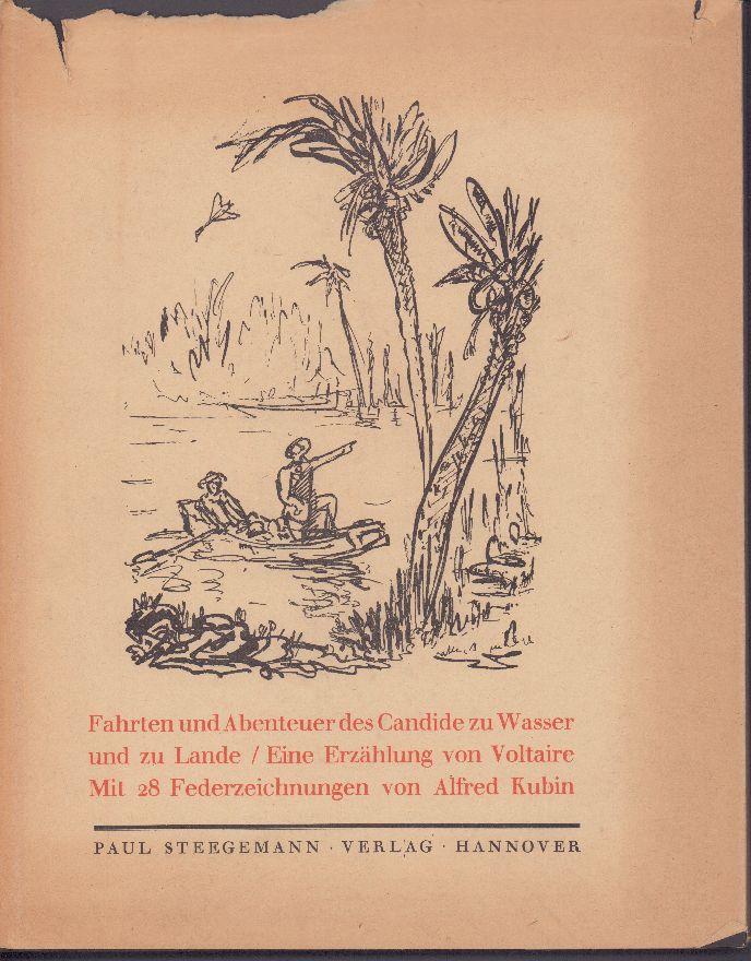 Candide: Eine Erzählung. Mit achtundzwanzig Federzeichnungen von: Voltaire