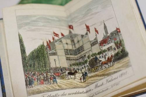 Lübeckischer Taschen-Kalender auf das Jahr 1845.