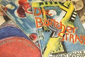 """Internationale Zeitschrift """"Die Böttcherstraße"""". - [14 Ausgaben].: Roselius, Ludwig; Bernhard"""