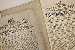 Frankfurter Ober Postamts Zeitung. - [Erstes Halbjahr 1814 in 2 Bänden]. -