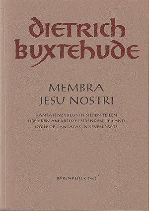 Membra Jesu nostri: Kantatenzyklus in sieben Teilen: Buxtehude, Dietrich