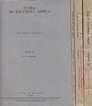 Flora of Southern Africa which deals with the Territories of the Republic of South Africa, Basuto...