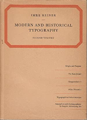 Modern and historical Typography. Second Volume: An illustrated Guide.