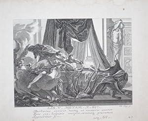 Die Verwandlung des Lyncus in einen Luchs. - [Lib. V. Metam. V. 661. Barbarus invidit, tantiq ut ...