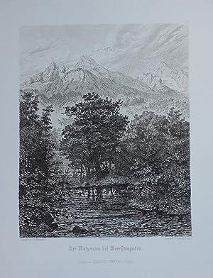 Der Watzmann bei Berchtesgaden.: Mannfeld, Bernhard