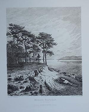 Märkische Landschaft (am Müggelsee).: Mannfeld, Bernhard