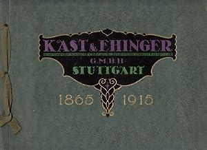 Kast und Ehinger Stuttgart Druckfarbenfabriken.