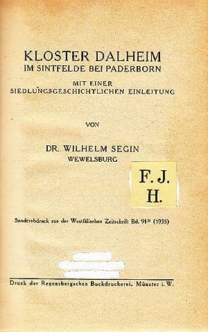 Kloster Dalheim im Sintfelde bei Paderborn.: Segin, Wilhelm