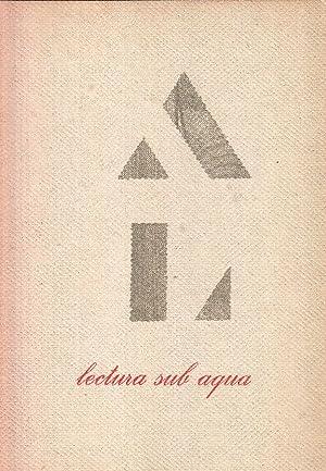 Lectura sub aqua: Experimenta Typografica.: Fidei, Servus [d.i.