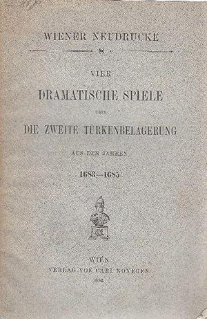Vier dramatische Spiele über die Zweite Türkenbelagerung aus den Jahren 1683-1685.