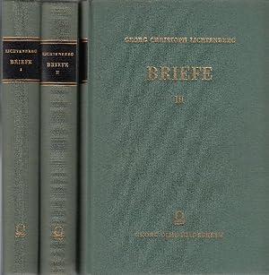 Georg Christoph Lichtenberg: Briefe. - [3 Bände]. -: Lichtenberg, Georg Christoph: