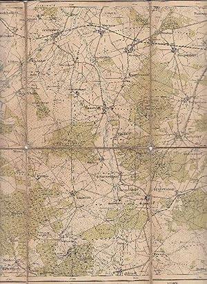 Spezialkarte der Lüneburger Heide, Blatt I: Buchholz.: Kanisch, W.