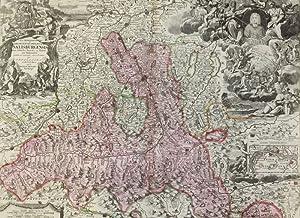 S.R.I. Principatus et Archiepiscopatus Salisburgensis. -: Homann, Johann Baptist: