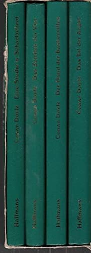 Sämtliche Sherlock Holmes Romane in 4 Bänden.: Doyle, Arthur Conan
