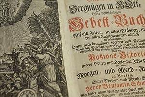 Das himmlische Vergnügen in GOtt, Oder vollständiges: Schmolcken, Benjamin