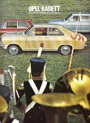 Opel Kadett. Kurz gesagt o.k. - [Opel-Prospekt].