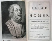 The ILIAD Of HOMER. Translated by Mr.: Homer. Pope, Alexander
