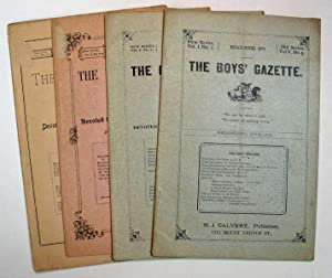 The BOYS' GAZETTE. New Series Vol. I. No. 1. April, 1878 - Vol. I. No. 5 - 6. Aug. - Sept., 1878
