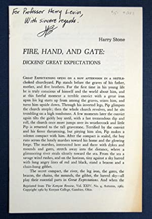 FIRE, HAND, And GATE: Dickens' Great Expectations: Dickens, Charles. 1812