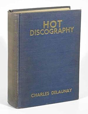 HOT DISCOGRAPHY. 1938 Edition: Delaunay, Charles