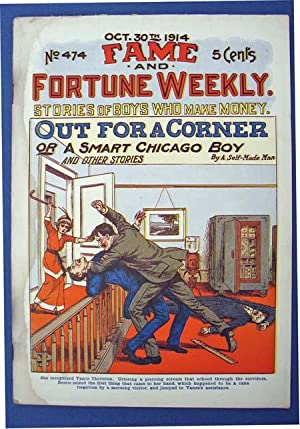 OUT FOR A CORNER or A Smart: Dime Novel]. 'By