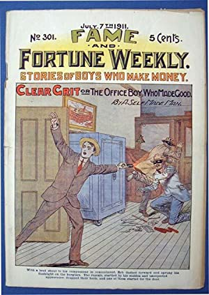 CLEAR GRIT or The Office Boy Who: Dime Novel]. 'By