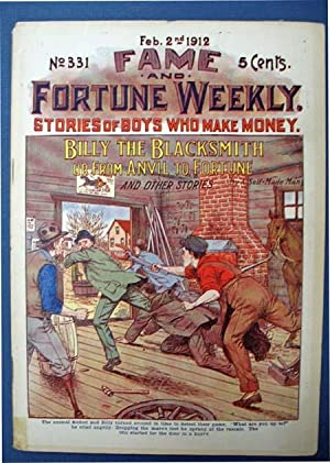 BILLY The BLACKSMITH or From Anvil to: Dime Novel]. 'By