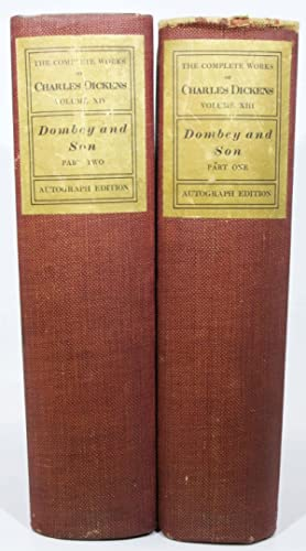 DOMBEY And SON. Part I. Part II.: Dickens, Charles [1812